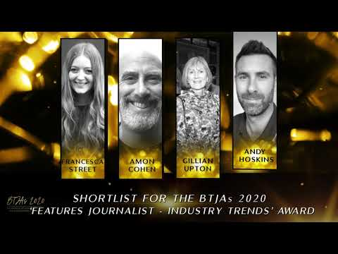 BTJAs 2020 Features Journalist of the Year - Industry Trends