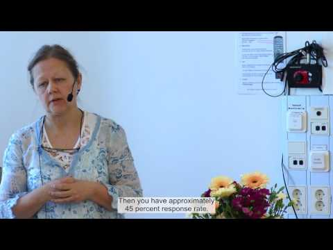 Study about disability, support and service among Sámi people in Sweden - Anette Edin-Liljegren