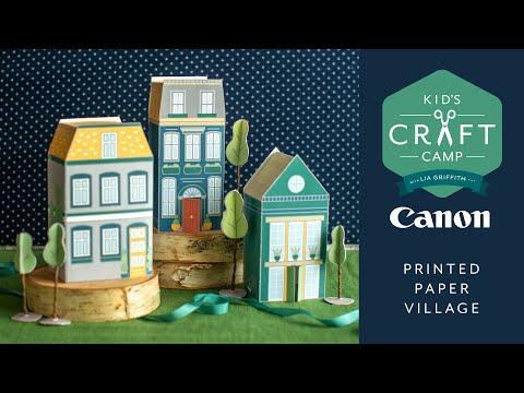 Craft Camp: Kid's Paper Village