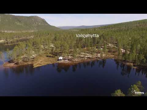 Valsjøhytta er en flott utleiehytte ved Valsjøen i Rendalen
