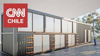 Hobe: Refugios modulares fueron adaptados a la pandemia para el personal de salud