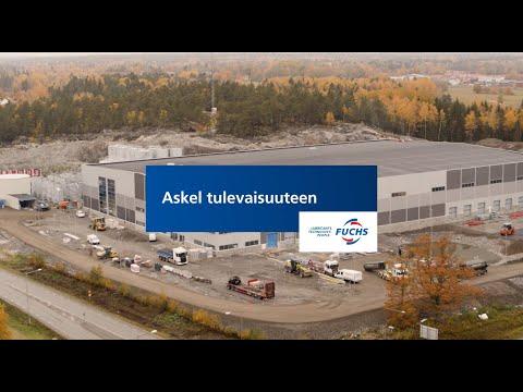 Askel tulevaisuuteen - Uusi voiteluainetehtaamme - suuri satsaus pohjoismaiden markkinoille