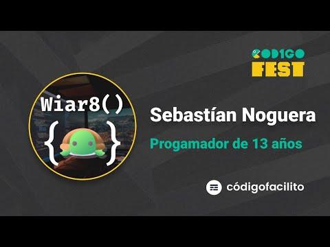 Programador de 13 años aprendió en Código Facilito, la historia de Sebastián Noguera | #CODIGOFEST