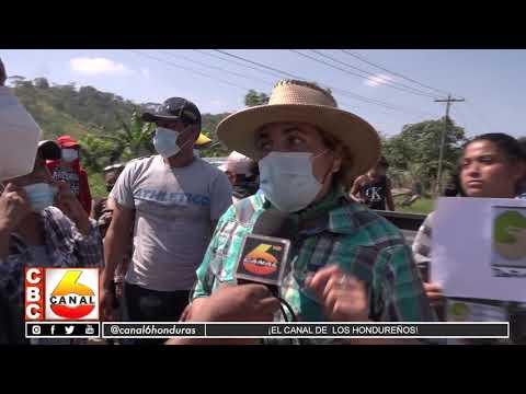 ONG Exige 250 mil lempiras a pobladores de Bellos Horizontes