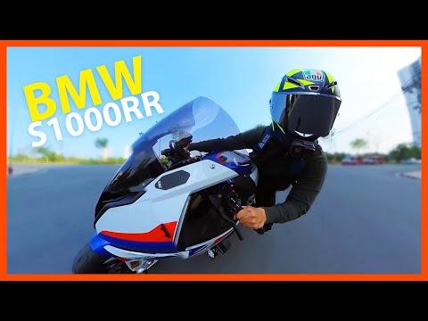 Chạy thử BMW S1000RR 2020 giá 1,1 tỷ đồng   Pure sound of 2020 S1000RR Akrapovic GP exhaust