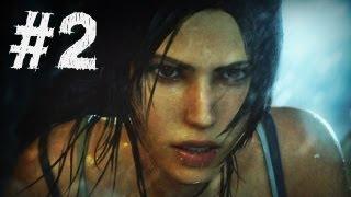 Tomb Raider Gameplay Walkthrough Part 2 - A Survivor Is Born (2013)