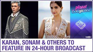 Karan Johar, Sonam Kapoor Ahuja, Jacqueline & others to feature in 24-hour COVID-19 fundraiser - ZOOMDEKHO