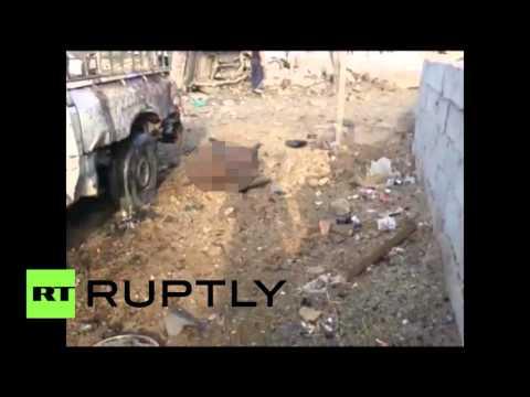 RAW: Deadly car blast targeting Shiite piligrims near Baghdad