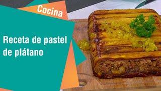 Receta de pastel de plátano maduro | Cocina