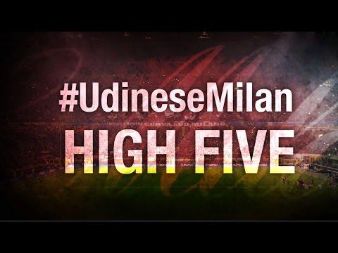 High Five #UdineseMilan | AC Milan Official