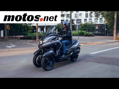 Yamaha Tricity 300 2020 / Prueba / Test / Review en español