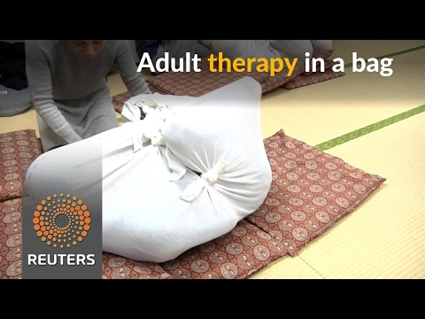 Trapped in a bag, adults seek relief from aches and pains