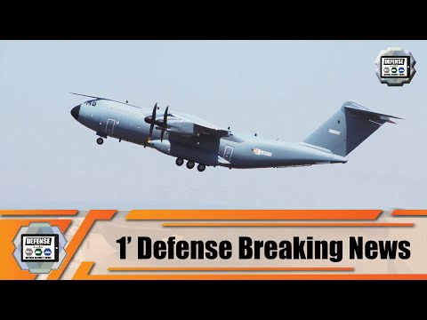 Belgian Air Force takes delivery of its first new A400M MSN106 military transport aircraft Belgium