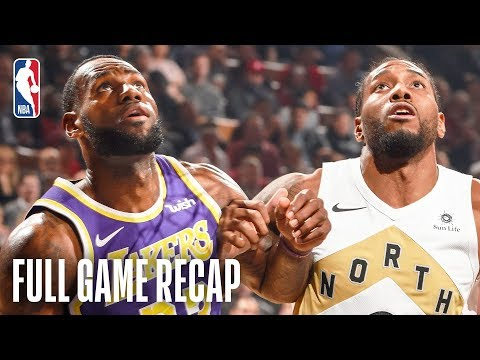 LAKERS vs RAPTORS | LeBron James & Kawhi Leonard Battle In Toronto | March 14, 2019