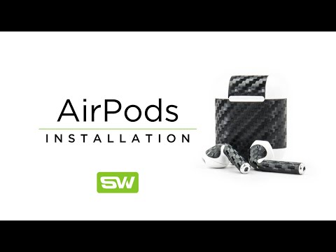 Slickwraps Apple AirPod Installation Video