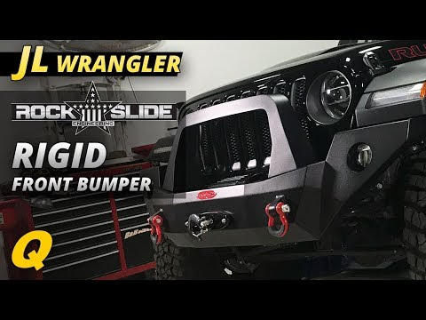 Rock Slide Engineering Rigid Front Bumper for the 2018 Jeep Wrangler JL