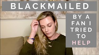 CONFESSION: I'm Being Blackmailed For $10,000 By My Fan Club President | Shallon Lester