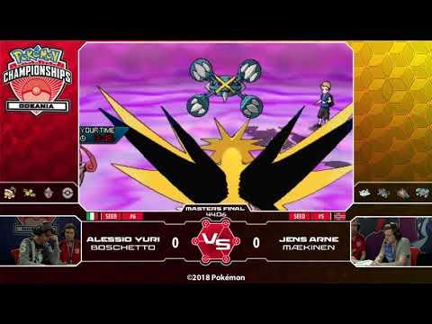 connectYoutube - 2018 Pokémon Oceania International Championships: VG Masters Finals