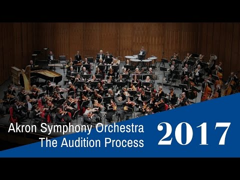 ASO: The Audition Process