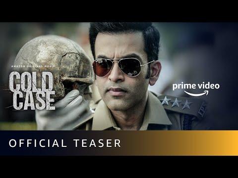 Cold Case - Official Teaser (Malayalam) | Prithviraj Sukumaran, Adithi Balan