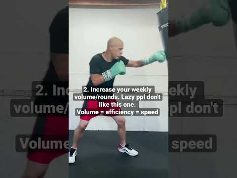 Increase Hand Speed for Boxing #boxing #handspeed