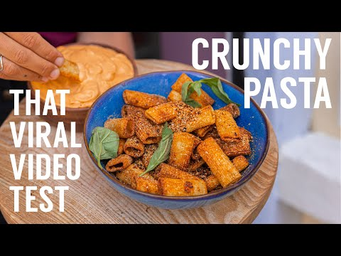 HOW TO MAKE THOSE VIRAL PASTA CHIPS IN THE AIR FRYER