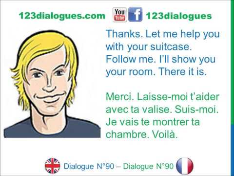 Learn french dialogue with vincent
