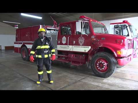 Equipamiento de máxima seguridad para los bomberos de Santa Cruz