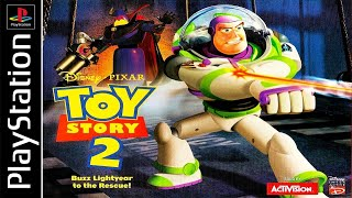 Toy Story 2: Buzz Lightyear to the Rescue 100% - Full Game Walkthrough / Longplay