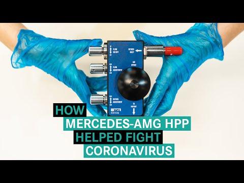 How Mercedes-AMG HPP Helped Fight Coronavirus