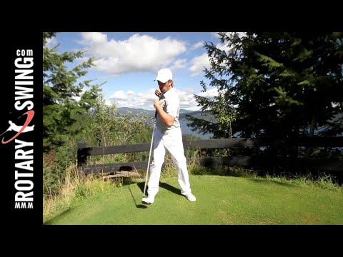 SIMPLE GOLF SWING ROTATION DRILL FOR CONSISTENCY AND POWER