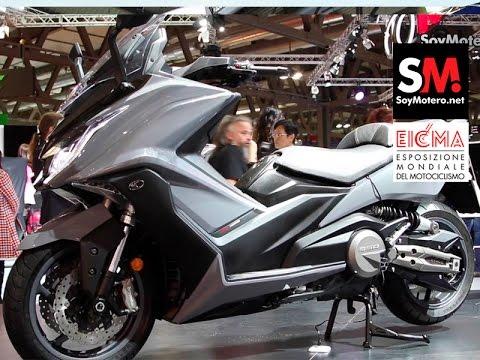 KYMCO AK 550 2017 (EICMA 2016)