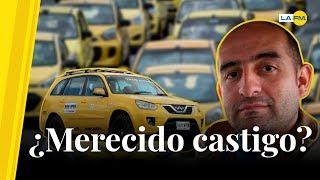 Freddy Contreras, taxista que insultó a mujeres de Uber, fue vetado