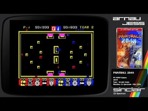 PAINTBALL 2048 Zx Spectrum by PCNONOGames