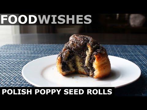Polish Poppy Seed Rolls - Food Wishes