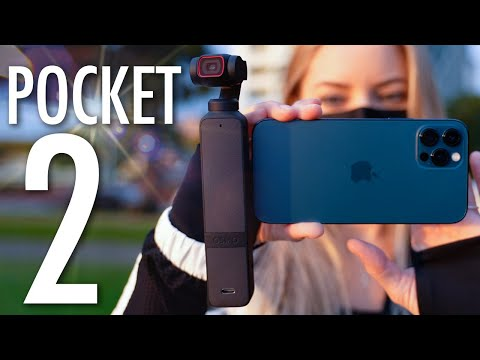 DJI Pocket 2 Unboxing and video test!