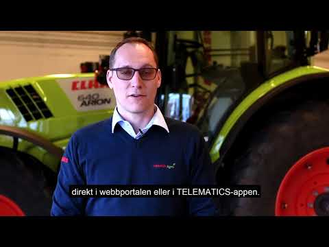 Exklusiva på CLAAS service - TELEMATICS