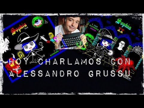 Hoy Charlamos con Alessandro Grussu