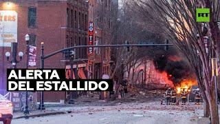 Inquietante advertencia de audio antes de la explosión en Nashville
