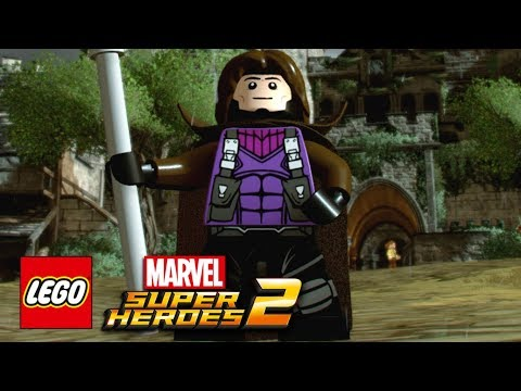 connectYoutube - LEGO Marvel Super Heroes 2 - How To Make Gambit (Remy LeBeau)