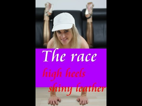All in heels - cardrive - sexy  - race - coaching - sexy Lady
