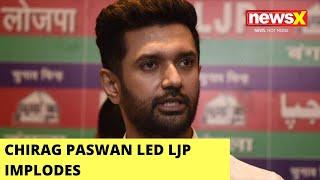 Chirag Paswan Led LJP Implodes | 5 MPs Seek Parliamentary Removal Of Paswan | NewsX - NEWSXLIVE