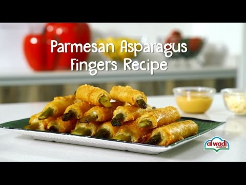 Parmesan Asparagus Fingers Recipe