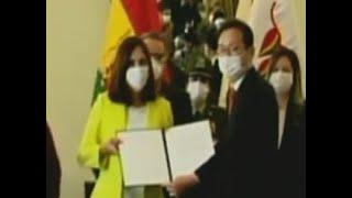Corea y Bolivia agradecieron el trabajo conjunto