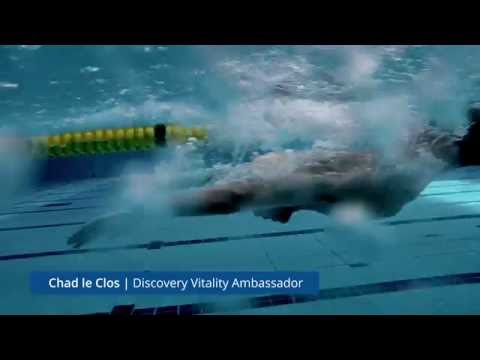 Every personal best deserves a celebration – Discovery Vitality Ambassador, Chad le Clos