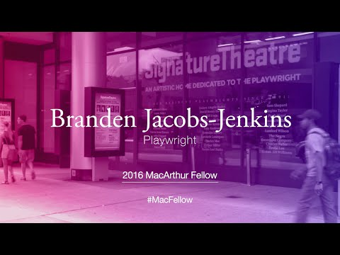 Playwright Branden Jacobs-Jenkins | 2016 MacArthur Fellow
