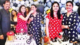 Actress Roja daughter Anshu Malika Surprise 17th birthday celebrations - RAJSHRITELUGU