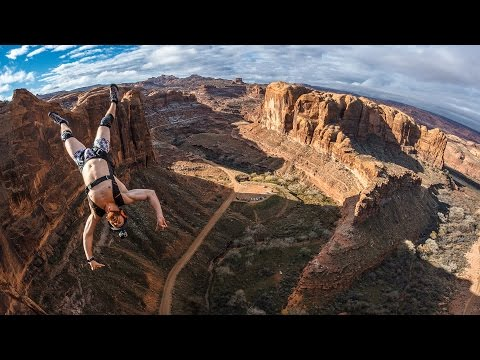 BASE Jumping Moab in MeUndies