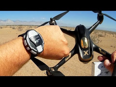 Hubsan HT006 GPS Follow Me Watch for ALL Hubsan GPS Drones Review