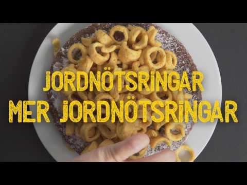 Jordnötsringar & Kladdkaka - recept från Estrella!
